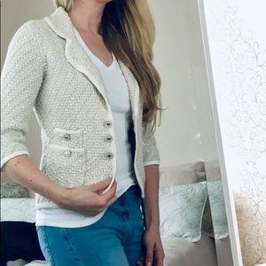White House Black Market Sweaters - White household Black Market Blazer sweater